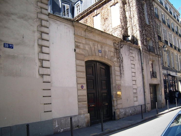 """Julie and Julia movie site in Paris"""