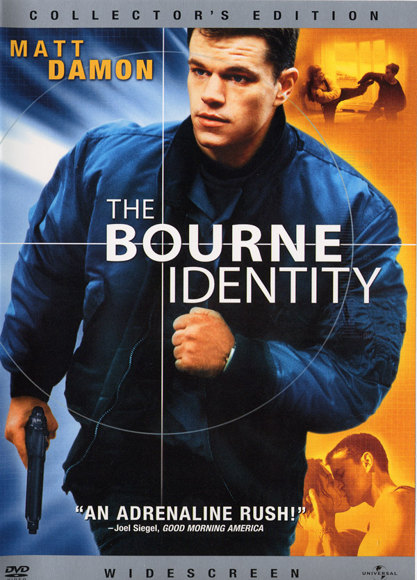 """Poster of The Bourne Identity  shot in Paris"""