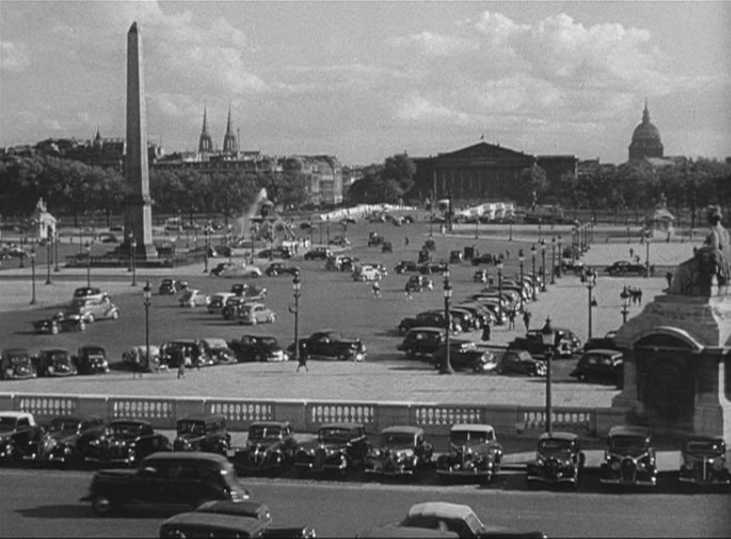 """Place de la Concorde - Hollywood and Paris, a love affair"""