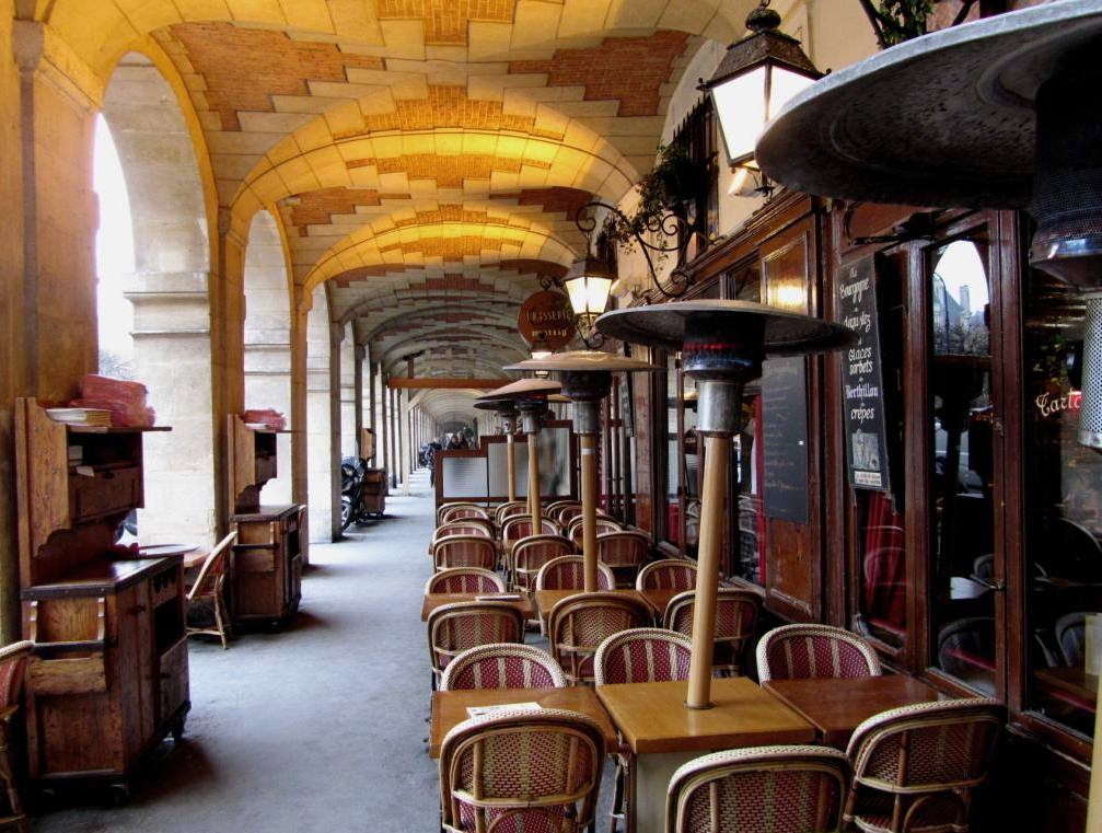 """Arcades of the Place des Vosges"""