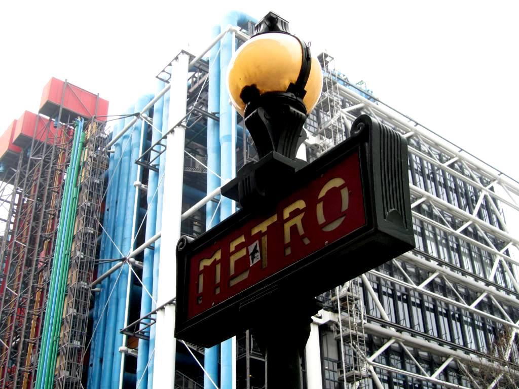"""""""Metro station Rambuteau"""""""