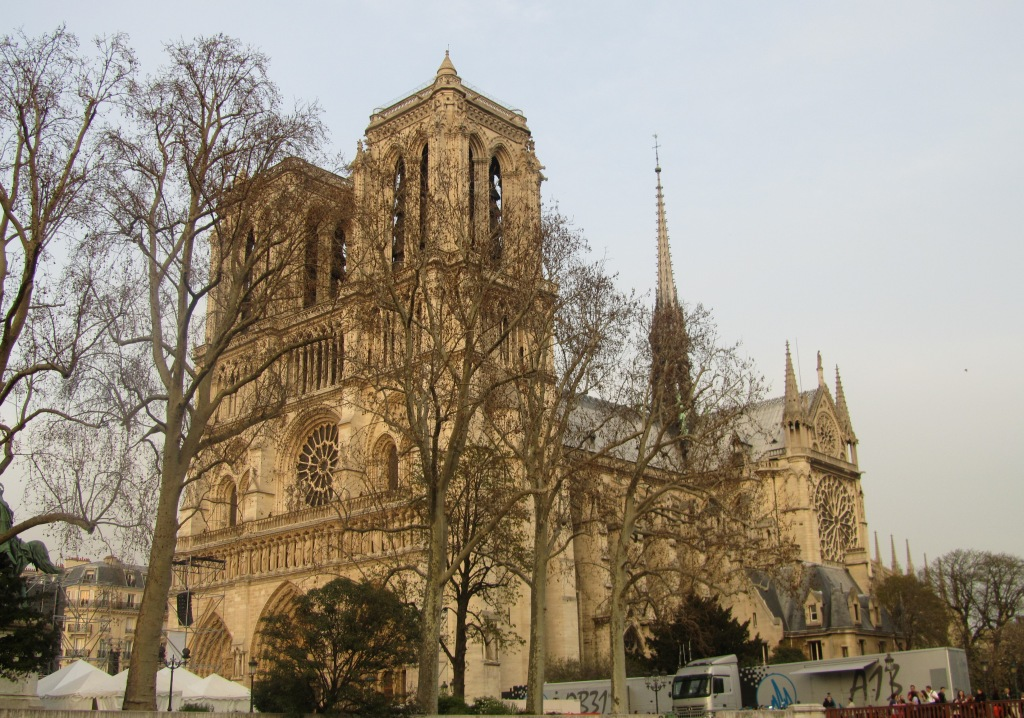 """Cathedral of Notre Dame in Paris"""