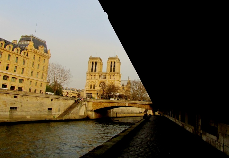 """Is Paris cultural capital of the world because of Notre Dame Cathedral seen from River Seine Paris"""