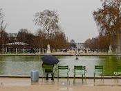 Romantic Paris in Winter